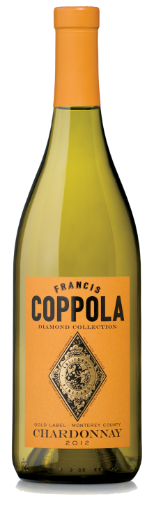 Francis coppola diamond collection 2012 gold label chardonnay