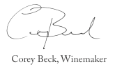 Corey Beck Winemaker